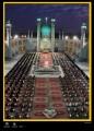 برگزاری باشکوه آئین جزء خوانی در صحن مطهر امامزاده هلال بن علی (ع) آران و بیدگل